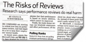 Risk of Reviews